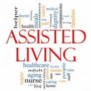 image of letters for assisted living